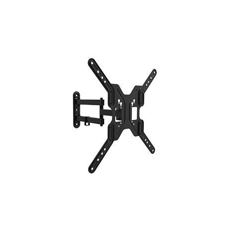 Support d'écran 13 - 55 double bras inclinable et pivotant max. vesa 400x400 jusqu'à 30kgs 650108