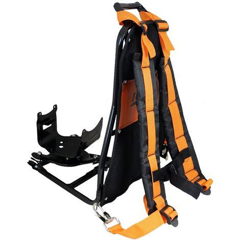 Support dorsal complet pour débroussailleuse à dos