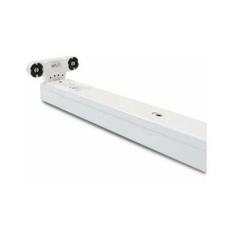 Support Double pour Tube Led T8 1200mm
