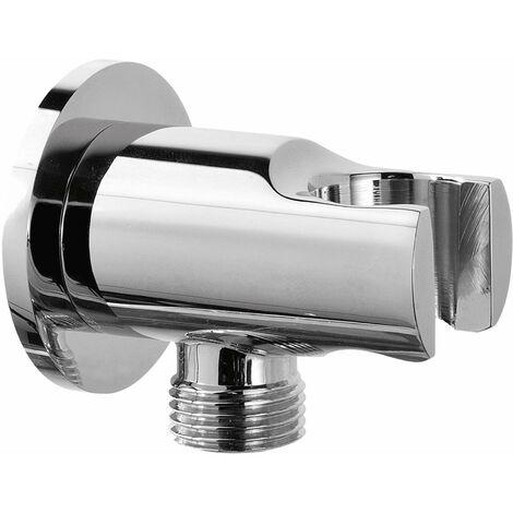 Support douche avec prise d'eau Damast Lindos 11995