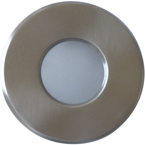 Support downlight rond matchrome étanche IP65 Diam 83mm