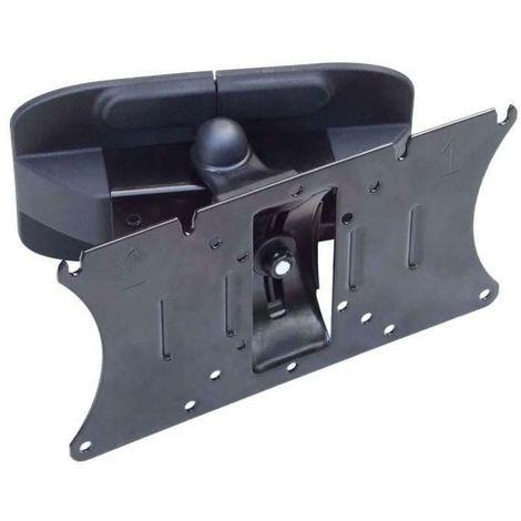 Support écran plat - Profondeur : 90 mm - Pour écran : 10 à 32\ - Charge : 20 kg - Version : Inclinable - Décor : Noir - ITAR - Version : Inclinable