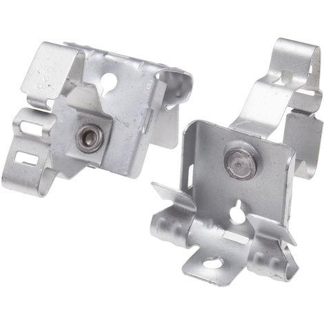 Support et pince de suspension de poutre, Diamètre de tuyau 19 → 26mm, Epaisseur de la bride 14 → 20 mm