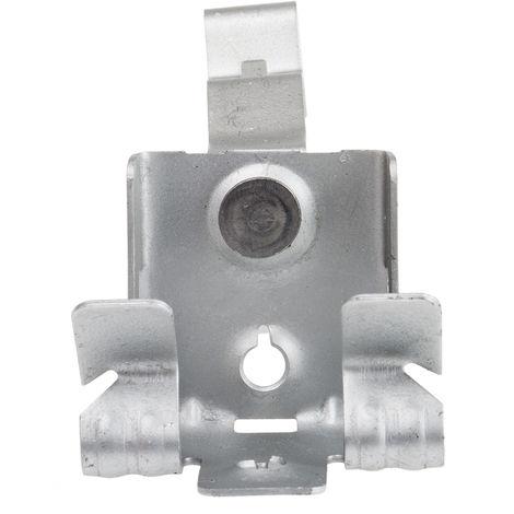 Support et pince de suspension de poutre, Diamètre de tuyau 19 → 26mm, Epaisseur de la bride 8 → 14 mm