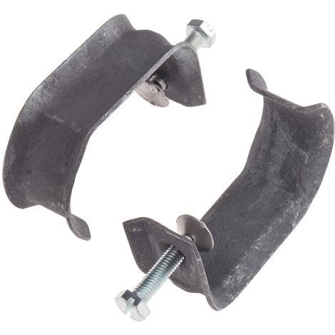 Support et pince de suspension de poutre, Diamètre de tuyau 20 → 24mm, Epaisseur de la bride 45 mm