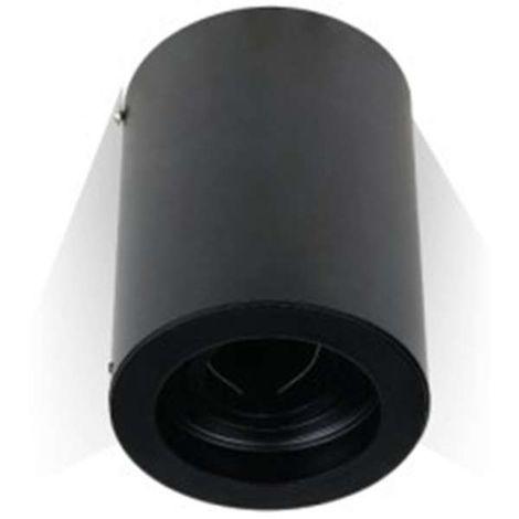 Support GU10 Noir Rond Vt-796 V-TAC
