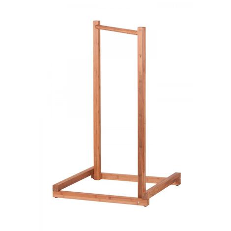 Support Hamac B?b? Yokiko en bois 65 x 65 x 110 cm