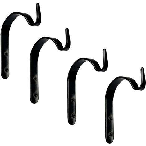 Support Jardiniere Balcon Support pour Plantes Suspendues Crochets Fer forgé Décoration Rustique Vintage Style Support de Mur Crochet pour Suspendre Lanterne Mangeoire Manteau Jardin