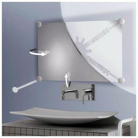 Support miroir orientable multidirectionnel Pellet