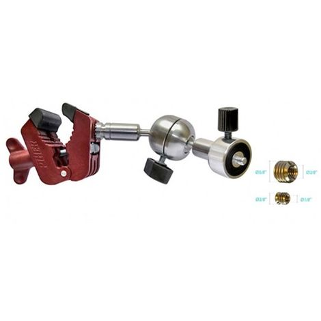 Support mulit-positions laser/camera/appareil photo filetage 1/4-3/8-5/8 - 34061 - Piher - -