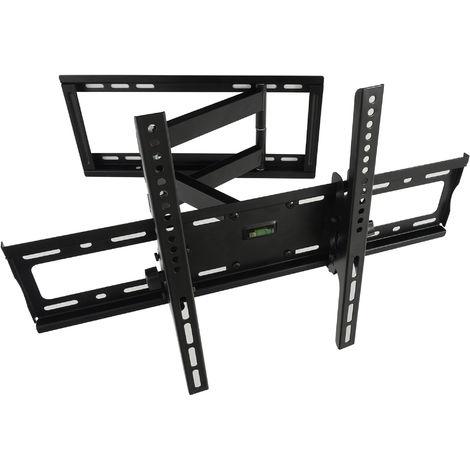 Support mural Nemaxx MK07 TV pour écran LCD Support de mural Moniteur LED Plasma - 32-65pouces / 81 a 165cm - Noir