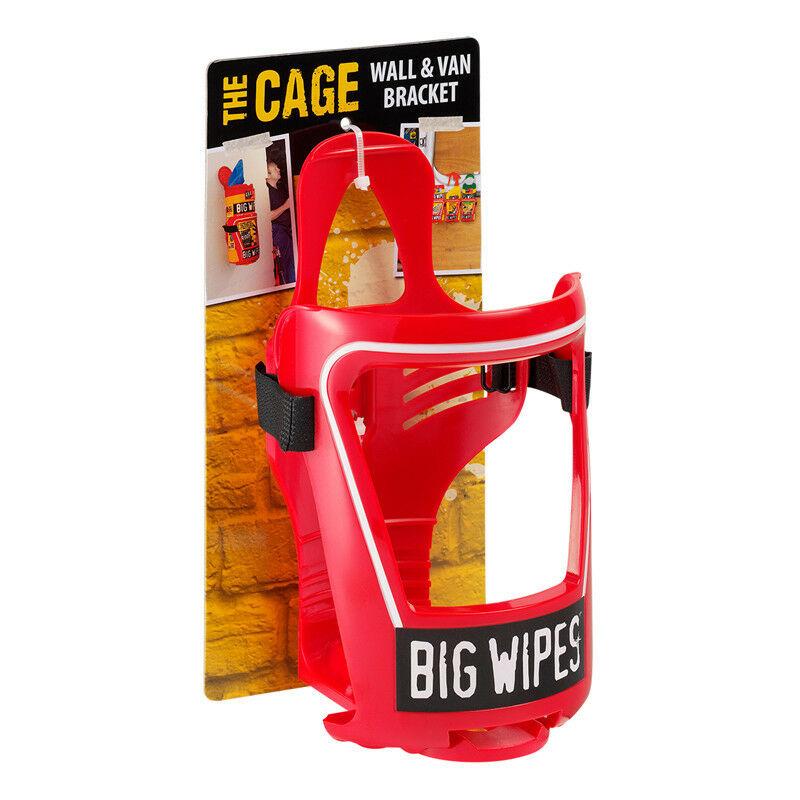 Bigwipes - Support mural ou camionnette Big Wipes pour boîte 120 lingettes