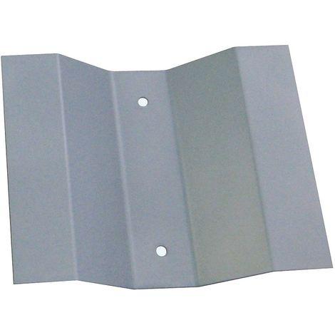 Support mural pour poubelle RIF 10 ou 15 litres   acier   gris   250x30x200   Rif Basic   1 pièce   medial - Gris