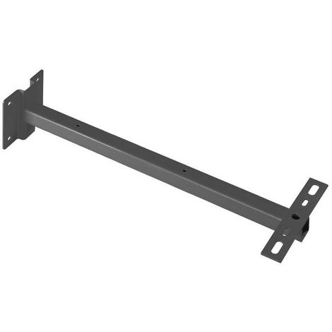 Support mural pour projecteur Outdoor Beam/Milox L50 cm - Anthracite - Anthracite