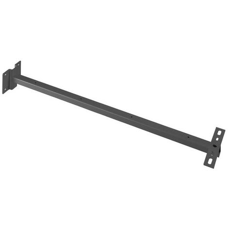 Support mural pour projecteur Outdoor Beam/Milox L80 cm - Anthracite - Anthracite