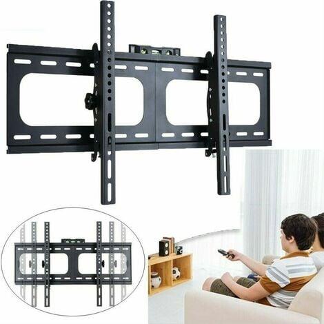 Support Mural TV Inclinable pour Écrans Plats 26-75 Pouces LED LCD Plasma 50x50-400x600mm pour Samsung, Sony, LG, Panasonic