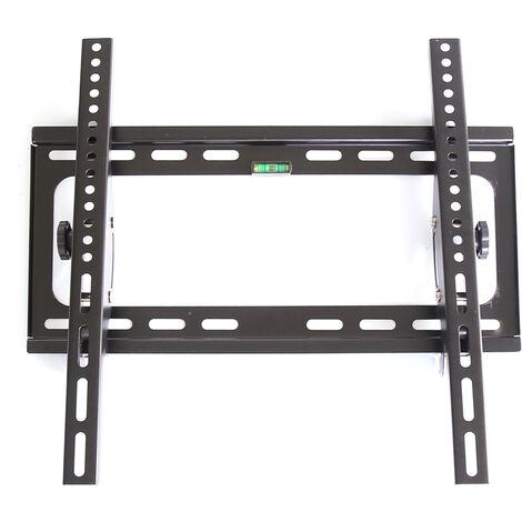 Support Mural TV Inclinable pour LED, LCD, OLED, TV à Écran Plat de 32 à 55 Pouces, VESA Max 400×400mm Capacité Max 45kg