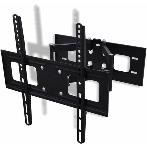 Support mural TV orientable et inclinable 37 - 55 pouces LCD Plasma - Or