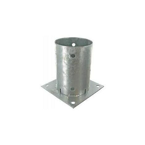 Support - Pied à fixer pour poteau rond Ø 10 cm