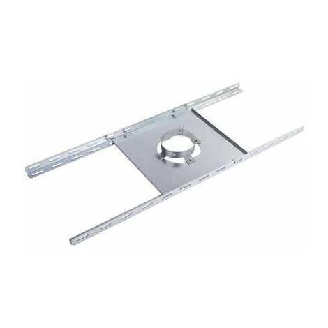 Support plancher galva - Diamètre conduit 80/125 - Tolerie Emaillerie Nantaise