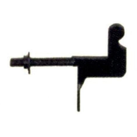 Support plein à écrou TORBEL cataphorèse noir pour espagnolette - 750253