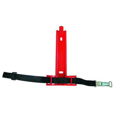 Support pour extincteur Ø 82 cm - Hauteur 30 cm