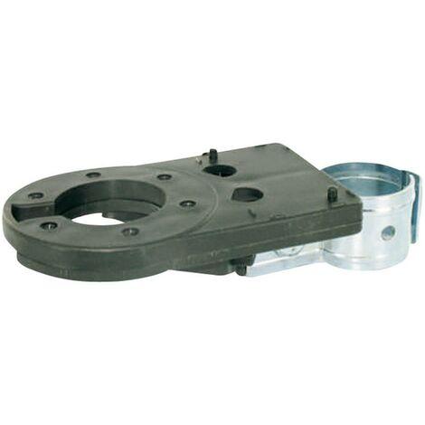 Support pour prise électrique SecoRüt 12079 [prise femelle 13 pôles, prise femelle 7 pôles - ] métal (galvanisé), plastique ABS
