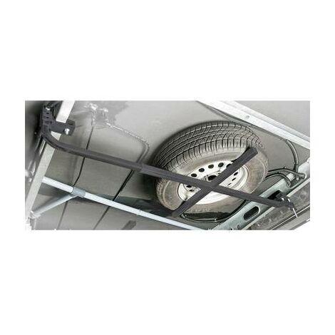 Support pour roue de secours LAS 11808 acier 130, 185 cm, cm x 62 cm x 1.75 cm 1 pc(s)