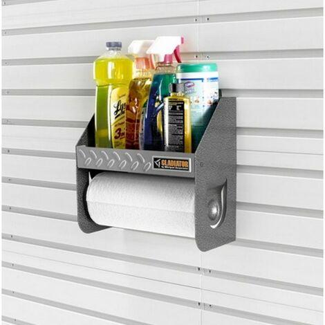 Support rouleaux essuie tout - à clipser sur panneaux/canaux muraux - GAWU12CCTG.