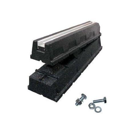 Support Rubber Foot Eco (la paire) IDK 400x130x95mm