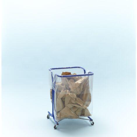 support sac poubelle 240 litres avec roulettes mottez b016c240. Black Bedroom Furniture Sets. Home Design Ideas