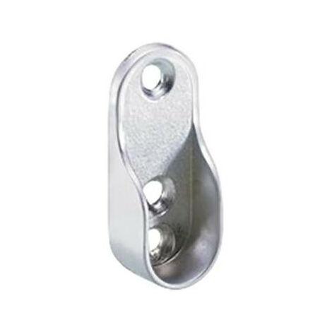 """main image of """"Support tringle rideau, aspect aluminium"""""""