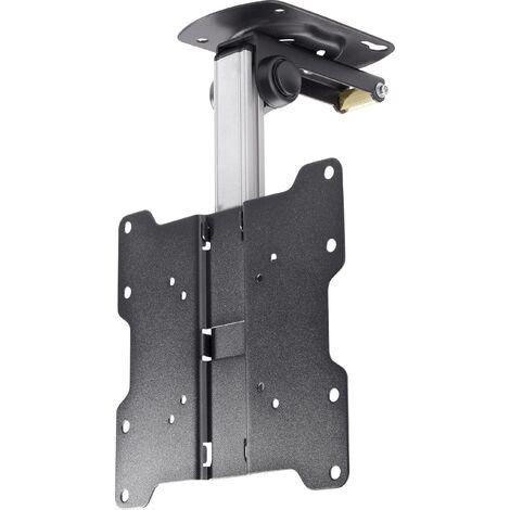 Support TV de plafond SpeaKa Professional 43 cm - 94 cm (17 - 37 pouces), pivotable, 20 kg X50382