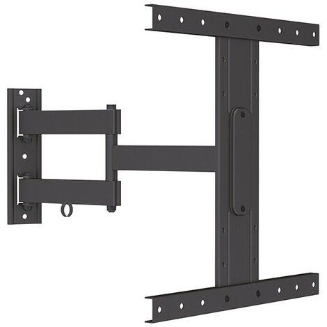 Support TV Fonestar Extensible, bras articulé double, poids jusqu'à 35 kg, couleur noire.