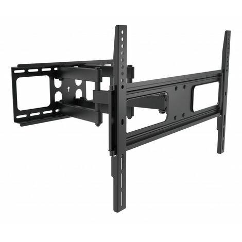 Support TV inclinable, dépliable et orientable 140 à 178 cm