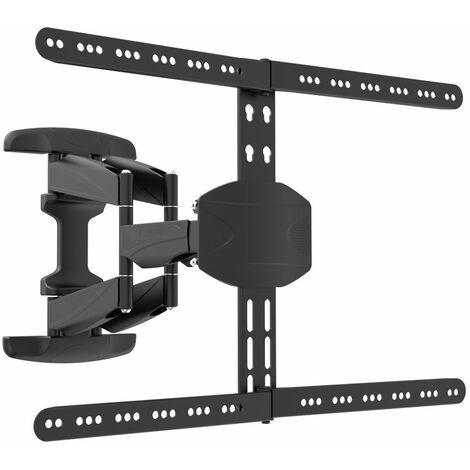 Support TV mural inclinable et orientable déporté dépliable pour écrans 32 à 70'' (80 à 178 cm) compatible TV incurvés - SEDEA - 371170