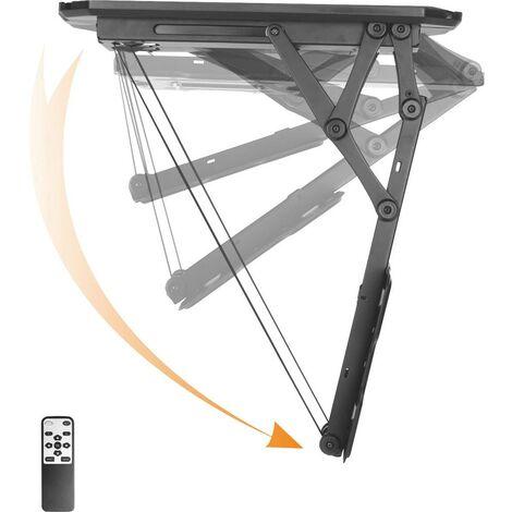 Support TV pour plafond SpeaKa Professional 23-55Z SP-5756712 58,4 cm (23) - 139,7 cm (55) inclinable, motorisé 1 pc(s)