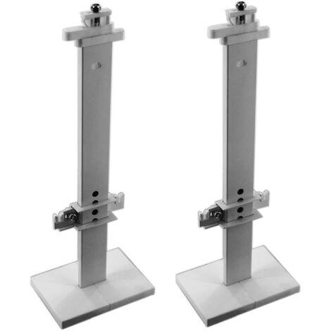 Support universel pour radiateur 2 pièces BH 300 mm