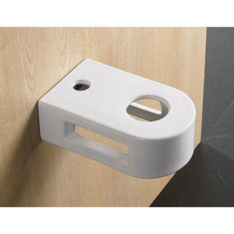 Support Vasque avec porte serviette intégré - 36x23 cm - Vogue