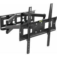 Supporto da installazione a parete per monitor 26-55″ (66-138cm) inclinabile girevole livella