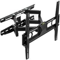 Supporto da installazione a parete per TV 32-55″ (82-138cm) inclinabile girevole livella