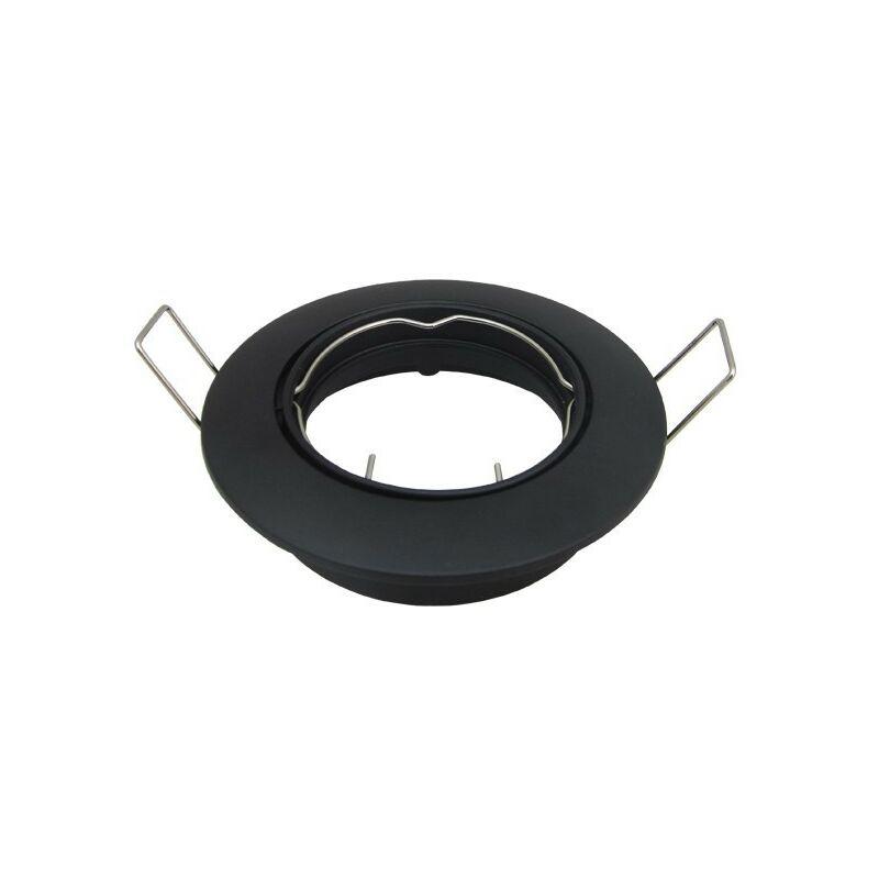 Supporto girevole nero opaco D82
