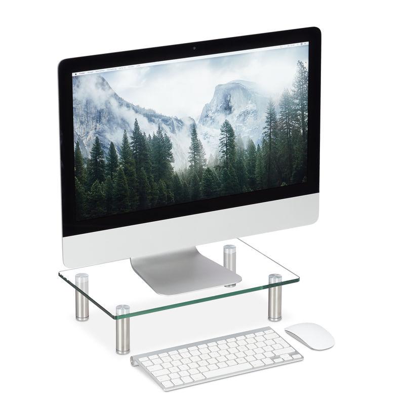 Supporto Monitor, Alzatina per TV, Standing Computer Desk ...