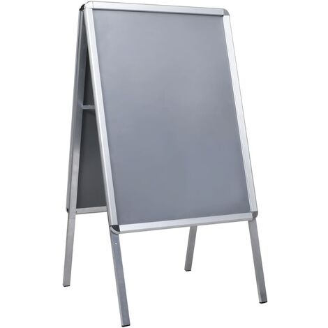 A1 in lega di alluminio Snap Frame A-Board Pflaster display doppio lato poster supporto Supporto per poster a1 pieghevole