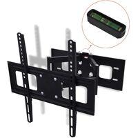 Supporto TV 3D a Muro Inclinabile Girevole Staffa 400x400 mm