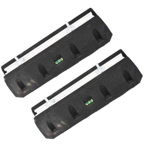 Supports caoutchouc anti-vibrations - Lot de 2 - Catégorie Pièces et accessoires