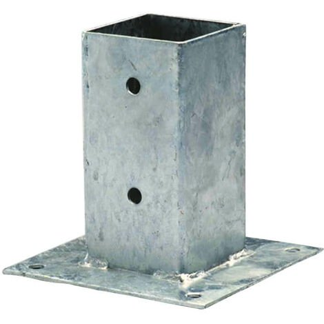 Supports en acier galvanisé à visser 7cm