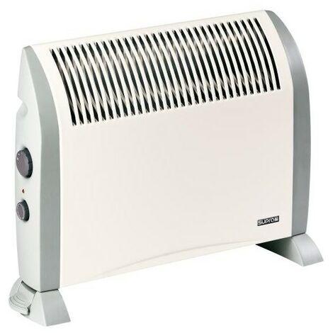 SUPRA CONVECTEUR MOBILE - Diffuseur Quickmix - 2 allures - Thermostat - Chauffage