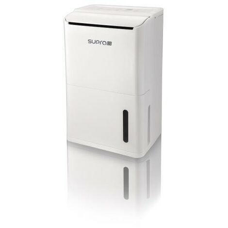 SUPRA DESHUMIDIFICATEUR - Jusqu'à 12 litres/ jour - Hygrostat électronique -
