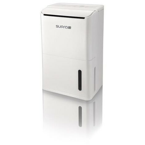 SUPRA DESHUMIDIFICATEUR - Jusqu'à 15 litres /jour - Hygrostat électronique -